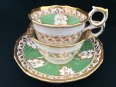 NO LONGER AVAILABLE -A T & J Carey tea & coffee trio c1825